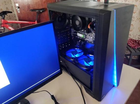 Pc Desktop Ryzen 3 2200g / 16gb De Ram / Ssd M2 Wd 240gb