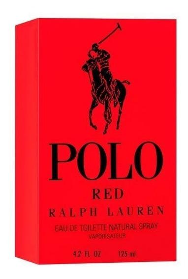 Perfume Polo Red Ralph Lauren Edt 125 Ml Masculino Original