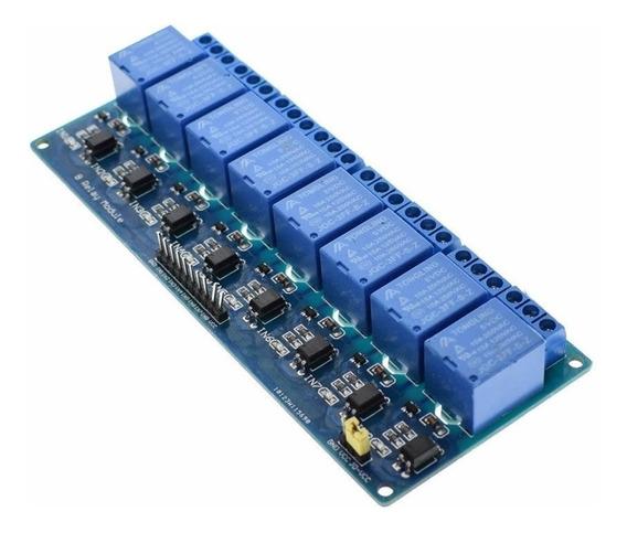 10x Módulo Relé 8 Canais 5v Para Arduino-pic Arm