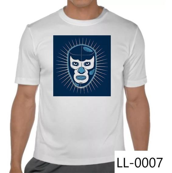Playera Blue Demon Demonio Azul Resplandor Lucha Libre Méx