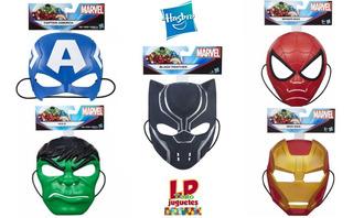 Avengers Mascara Careta Basica Marvel Hasbro Vs Modelos