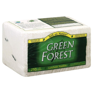 Green Forest 100% Recycled Luncheon Napkins 3000 Servilletas