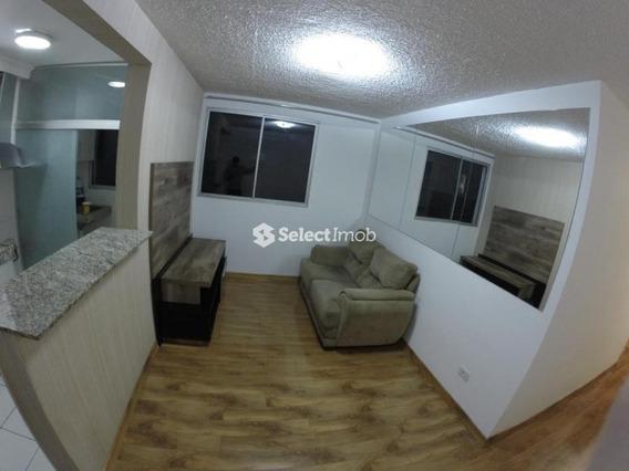 Apto. 46 M² - Parque São Vicente, Mauá - 2 Dormitórios. - Ap0074