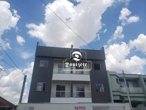 Cobertura À Venda, 88 M² Por R$ 320.000,00 - Vila Camilópolis - Santo André/sp - Co11860