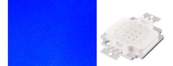 Kit Led Chip 10w 12v Aquário Refletor Promoção! 10 Unidades