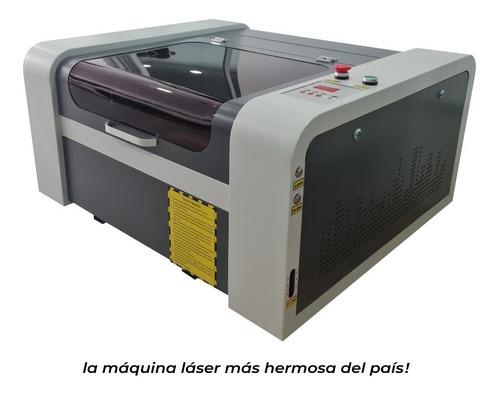 Máquina Láser Grabado Y Corte 50w Mdf Acrílico Telas Cuero