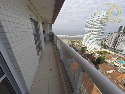 Apartamento À Venda No Forte, Frente Ao Mar De 03 Quartos, Alto Padrão, Lazer Completo!!! - Ap4343