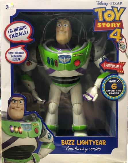 Figura Buzz Parlante 33cm Toy Story 4 Sonidos Mayoreo Full