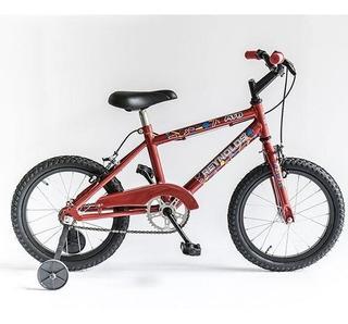 Bicicleta Reynolds 8001 Rod. 16 Varon Con Rueditas