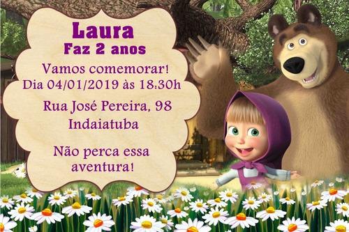 Convite Digital Marsha E O Urso