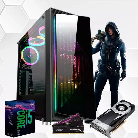 Pc Gamer I5 8400 B360m Gtx2060 6gb Mem 16gb Hd2tb, Ssd240