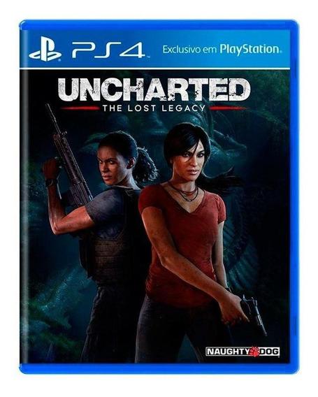 Uncharted The Lost Legacy Ps4 Mídia Física Pronta Entrega