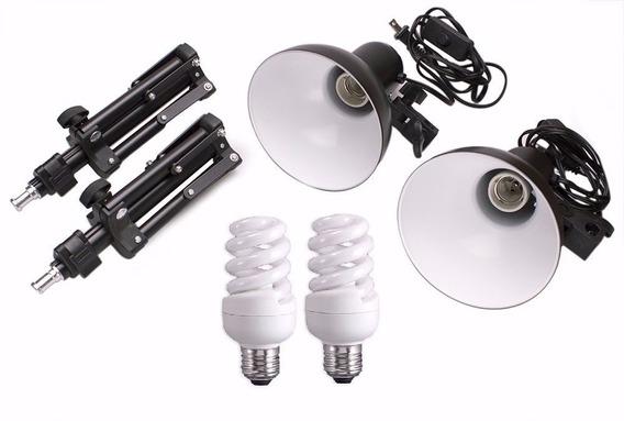 Kit Iluminação Para Mini Estúdio 110v