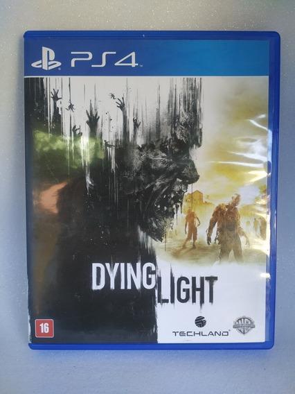 Jogo Ps4 Mídia Física - Dying Light - Usado