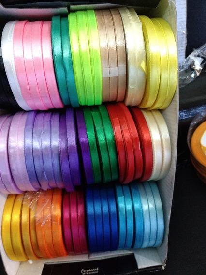 10 Cinta Bebe 6mm Raso Simple21m-souvenirs-15-tarjetas Dijes