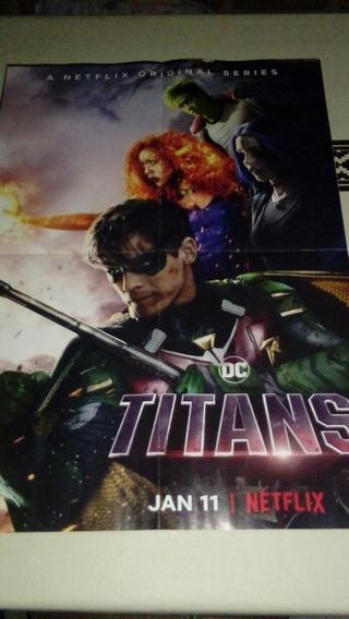 Póster Titans. Dc. Netflix