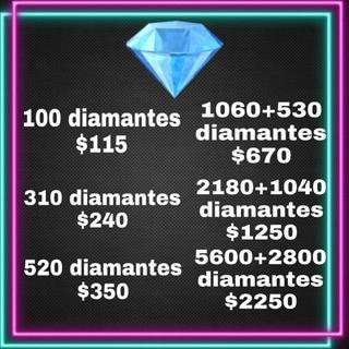 Diamantes Del Free Fire