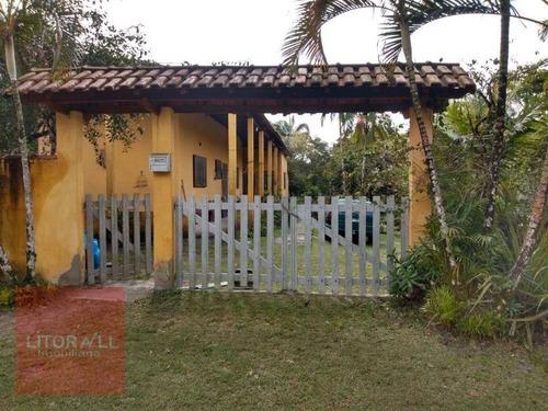 Imagem 1 de 20 de Chácara À Venda, 1442 M² Por R$ 190.000,00 - Vila Parque Fluvial - Itanhaém/sp - Ch0051