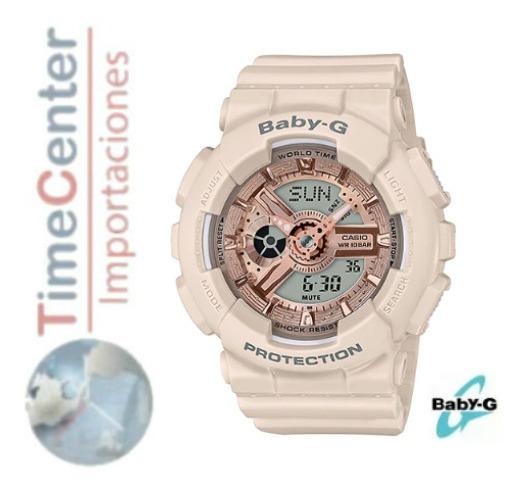 Reloj Casio Baby-g Digital, Análogico Para Mujer Ba-110cp-4a