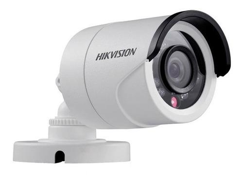 Cámara Bullet Hikvision 1080p Turbo Hd Lente 2,8mm Exterior
