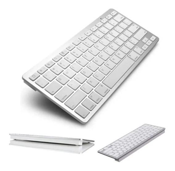 Teclado P/ iPad iPhone iMac Macbook Pc Tablet Bluetooth