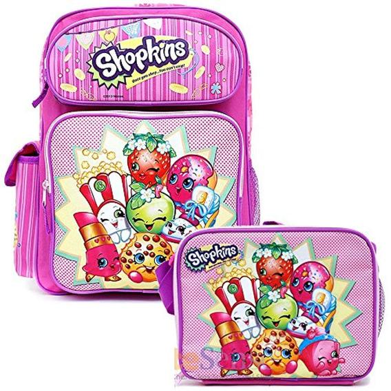 Shopkins School Backpack Set 16