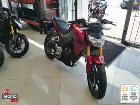 Honda Cb190r Roja 2020 0km Financiación Con Honda
