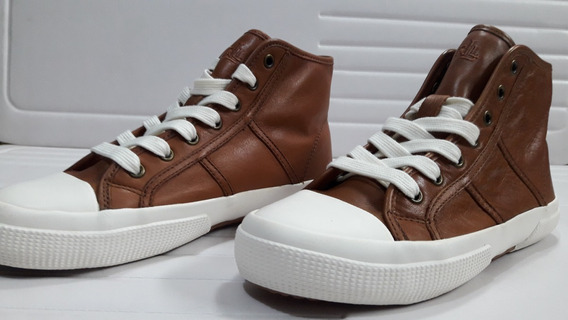 Zapatos Tenis Polo Ralph Lauren Piel Unisex Cafes