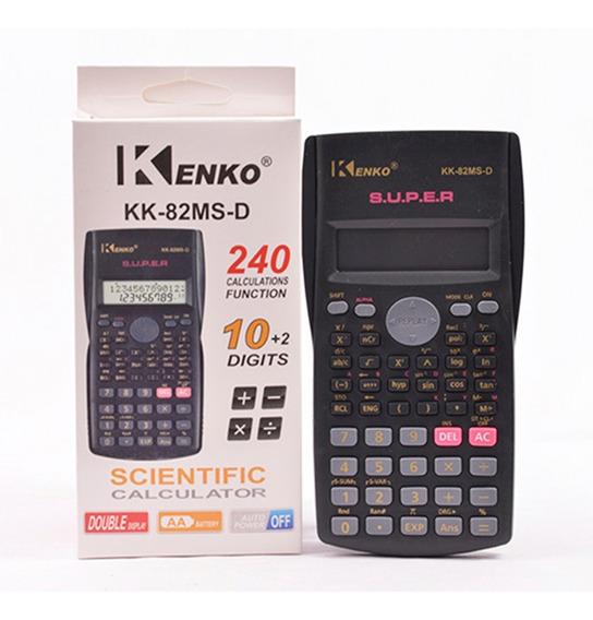 Calculadora Kenko Cientifica 240 Funciones X Mayor X Docena