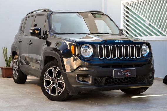 Jeep Renegade Longitude Aut. Flex - Bancos Em Couro - 2016