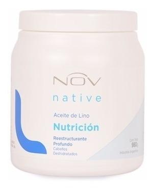 Baño De Crema Nutricion Nov 1 Kg Argan Lino Keratina
