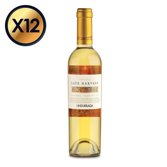 Undurraga Late Harvest 375cc - Pack 12 Botellas