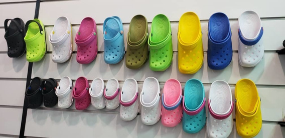 Chancletas Crocs