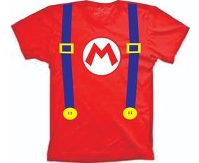 Fantasias Do Mario- Camisetas Infantil E Adulto Super Mario3