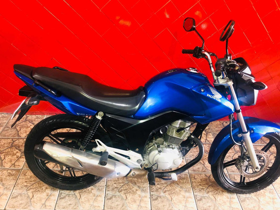 Honda Cg Fan 150 Esdi 2014 Troca E Financia