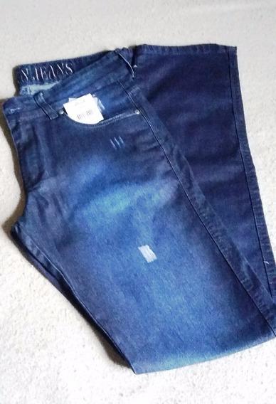 Calça Azul Jeans Bivik 54257- Pronta Entrega | Frete Grátis