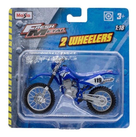 Miniatura Moto Ttr 250 - Yamaha - 1:18 Maisto