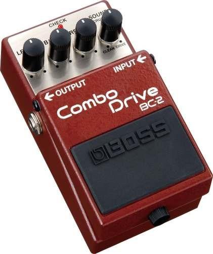 Pedal Para Guitarra Boss Bc2 Combo Drive + Fonte + Cabo
