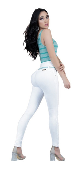 Pantalones Colombiano Ciclon Jeans Leysi Push Up