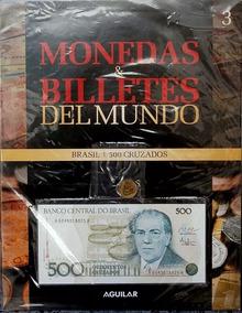 Coleccion Monedas Y Billetes Del Mundo Aguilar Brasil