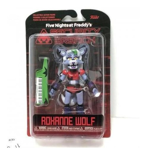 Funko Security Breach Five Nights At Freddy Roxanne Wolf