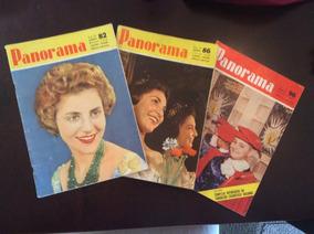 Revistas Panorama - Lote Com 8 Unidades E Mais Brinde Visão