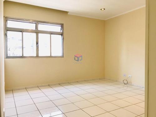 Imagem 1 de 12 de Apartamento À Venda, 2 Quartos, 1 Vaga, Centro - Santo André/sp - 101730