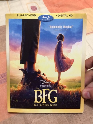 Bfg (buen Amigo Gigante)   Original Blu Ray