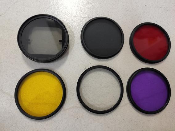 Kit Lentes Gopro Filtro Polarizador Polar Pro Anti Reflexo