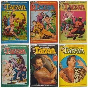 Tarzan Ebal 1984 Com 30 Revistas Preto E Branco Antiga Rara