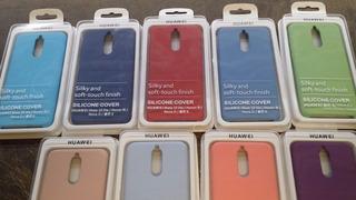 Funda Silicone Huawei Mate 10 Lite / Nova 2i Varios Colores