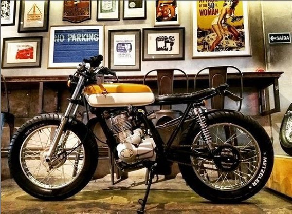 Café Racer Customizada 175 Cc - Sundown Max By Johnnie Wash