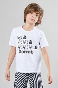 Camiseta Mini Sm &&& Dormi Reserva Mini