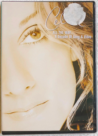 Dvd Celine Dion All The Way A Decade Of Song & Video Lacrado